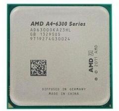 AMD APU  A4 6300 双核 散片 FM2  集成显卡(拆机)