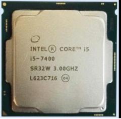 英特尔(Intel)酷睿四核I5-7400 1151接口 CPU处理器 散片(拆机)