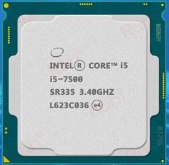 英特尔(Intel)酷睿四核I5-7500 1151接口  CPU处理器 散片