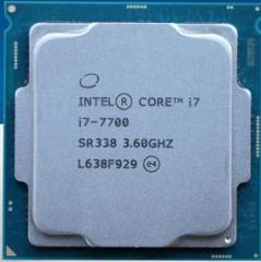 英特尔(Intel)酷睿四核I7-7700 1151接口  CPU处理器 散片