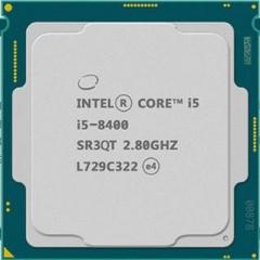英特尔(Intel) i5 8400 酷睿六核 CPU处理器 散片