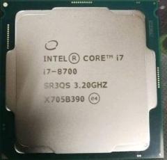 英特尔(Intel) i7 8700 酷睿六核 CPU处理器 散片