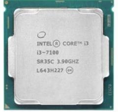 英特尔(Intel)酷睿双核I3-7100 1151接口 CPU处理器 散片
