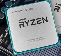 锐龙 AMD Ryzen 3 1200 四核 AM4接口  散片  不集成显卡