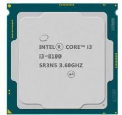 英特尔(Intel) i3 8100 酷睿四核 CPU处理器 散片