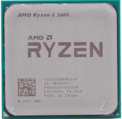 锐龙 AMD Ryzen 5 2600 六核 AM4接口 散片 不集成显卡