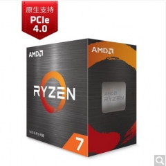 AMD锐龙75800X处理器(r7)7nm 8核16线程 3.8GHz105WAM4接口 盒装CPU