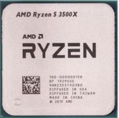 AMD 锐龙5 3500X 处理器 (R5) 6核6线程3.6GHz65W AM4接口 散片 CPU