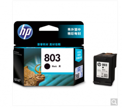 惠普(HP)F6V21AA 803 黑色墨盒