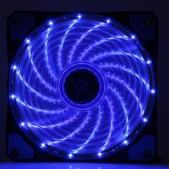 奥申 15灯蓝光机箱风扇