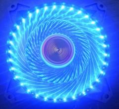 动力火车 33灯蓝光机箱风扇