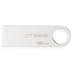 金士顿优盘32G DTSE9  金属 银色   2.0 se9