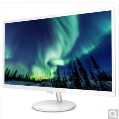 飞利浦(PHILIPS) 电脑显示器 VA面板广视角 低蓝光爱眼不闪屏  327E8QSW 白色
