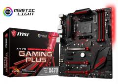 MSI/微星 X470 GAMING PLUS MAX全新AMD台式电脑游戏主板支持锐龙R7