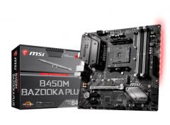 /微星B450M BAZOOKA PLUS DDR4 AM4电脑主板AMD(价格质询客服更加优惠)
