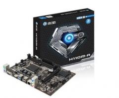 影驰 H110M-A电脑主板DDR4双通道i3-8100主板支持i3-7100 i5-7500