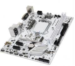 MSI/微星 H310M GAMING ARCTIC极地板 台式机游戏电脑白色主板