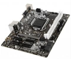 MSI/微星B360M WIND 吃鸡游戏办公主板M-ATX支持八代cpu i5 8400(工包)