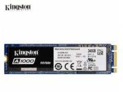 金士顿A1000 240G 固态 M.2 NVMe 固态硬盘  2280