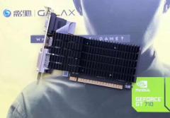 影驰GT710战将1G 显卡(VGA/DVI/HDMI)(注意17号左右发货)