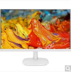 飞利浦显示器 27英寸  273V7QDSWF  IPS技术屏低蓝光可壁挂HDMI  白色