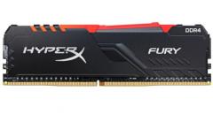 金士顿(Kingston)DDR4 3200 16GB 台式机内存 RGB灯条 骇客神条雷电2*8