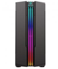 影驰 铁甲R1 电脑机箱台式DIY全侧透RGB游戏水冷ATX大板机箱背线