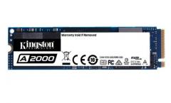 Kingston/金士顿 A2000 500G GB NVMe SSD固态硬盘 简包带盒