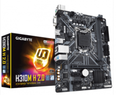 技嘉/GIGABYTE H310M-H 2.0 台式机游戏电脑主板(支持WIN7)