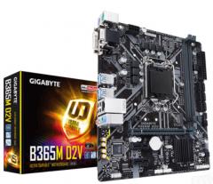 Gigabyte/技嘉 B365M D2V游戏主板高速支持win7