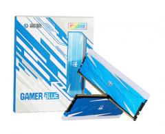 影驰 GAMER 8G 2666 DDR4 灯条 BLUE 蓝色内存条