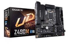 技嘉(GIGABYTE)Z490M 主板 支持 CPU 10900K/10700K