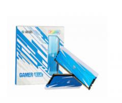 影驰 GAMER 8G 3200 DDR4 灯条 BLUE 蓝色内存条