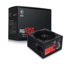 微星 PAG A350 电源 额定350W