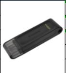 金士顿 DT70 3.2 TYPE-C 单接口 64G