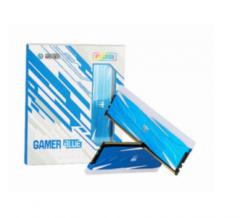 影驰 GAMER 16G 3600套(8*2) DDR4 RGB灯条 BLUE 蓝色内存条