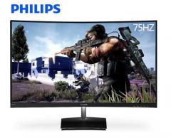 飞利浦/PHILIPS 1500R曲面电脑显示器  PS4便携  31.5英寸 321E1SC 黑色