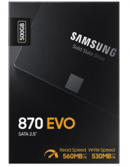 三星(SAMSUNG)250GB SSD固态硬盘 SATA3.0接口 870 EVO