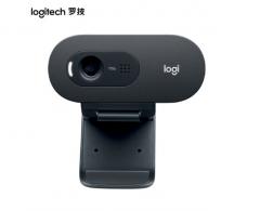 罗技C505e摄像头 720P 500万像素  60°光线校正