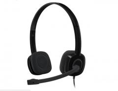 罗技H151立体声耳机麦克风