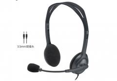罗技H110立体声耳机麦克风