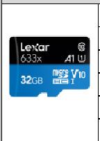 雷克沙  TF 633X 读95M  32G  TF卡