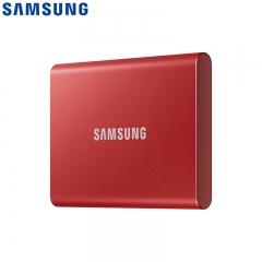 三星T7 2T Type-c USB 3.2 移动固态硬盘 非指纹