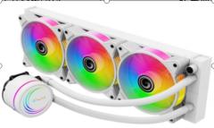 影驰  雪影水冷240R  风扇  支持RGB同步  三年质保
