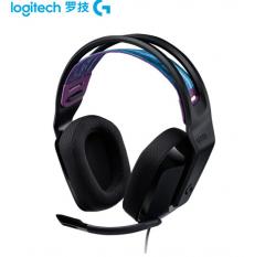 罗技(G)G335游戏电竞降噪耳麦 7.1声道  耳麦