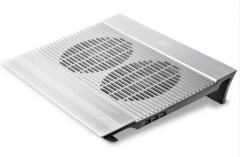 九州风神 N8 笔记本散热器 (全铝支架/笔记垫/电脑配件/散热垫/适用于15.6英寸 )