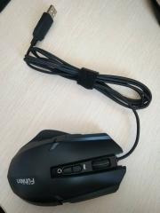 富勒有线游戏鼠标 X100U