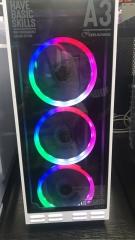 光圈彩虹风扇