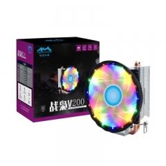 战枭V200 两铜管CPU散热器