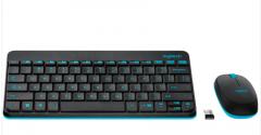 罗技(Logitech)MK245无线键鼠套装 黑色